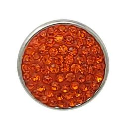 Orange Glitz Treasure Snap