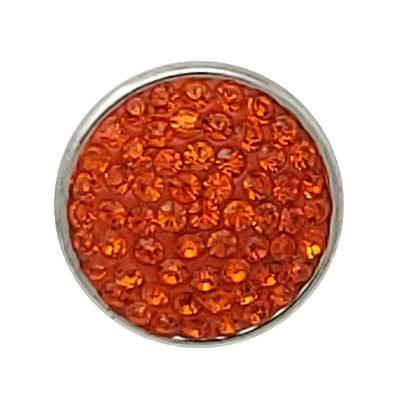 Orange Glitz Treasure Snap