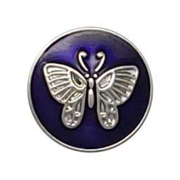 Purple Butterfly Treasure Snap
