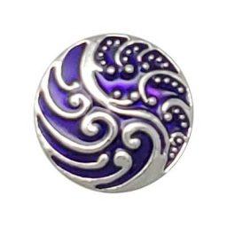 Purple Waves Treasure Snap