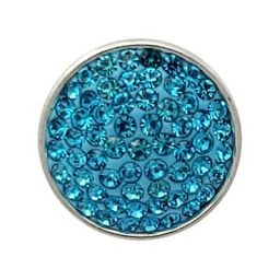 Turquoise Glitz Treasure Snap