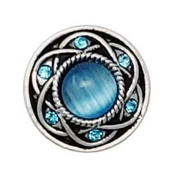 Entwined Turquoise Treasure Snap