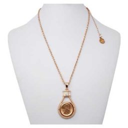 Princess Rope Rose Gold-Tone SNAP Necklace