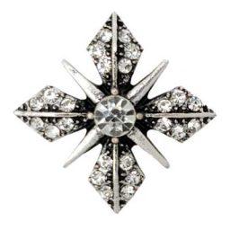 Versatile Clear Crystal Treasure Snap
