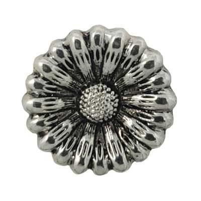 Metal Flower Treasure Snap