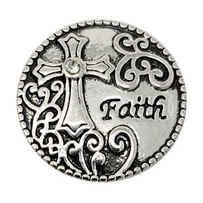 Faith Cross Treasure Snap