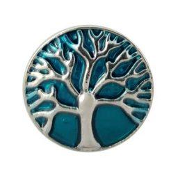 Turquoise Tree of Life Treasure Snap