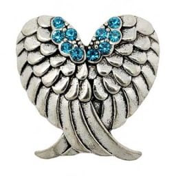 Turquoise Wings of Love Treasure Snap