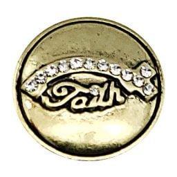 Faith Fish Treasure Snap