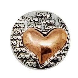 Copper Love Treasure Snap
