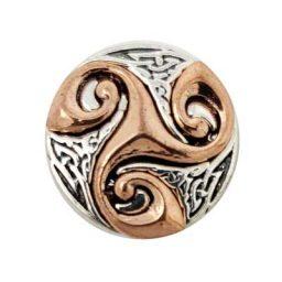 Swirly Copper Treasure Snap