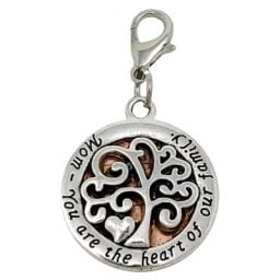 Mom Tree of Life Penny Charm