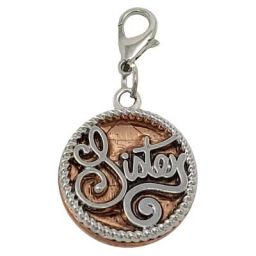 Sisters Penny Charm