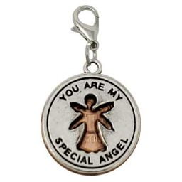 Special Angel Penny Charm