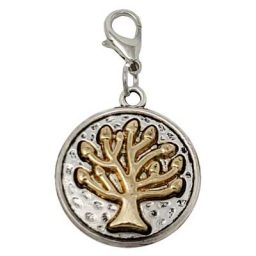 Tree of Life Solid Penny Charm