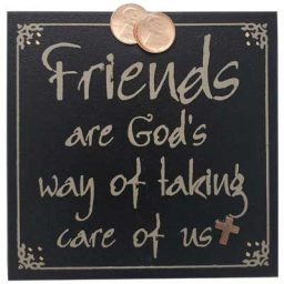 Friends Wall Plaque
