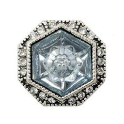 Octagonal Clear Treasure Snap