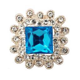 Stately Turquoise Treasure Snap