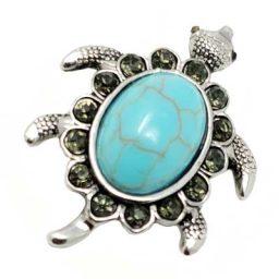 Turquoise Turtle Treasure Snap