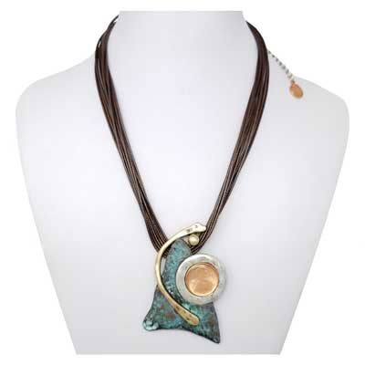 My Utmost - Copper Patina Necklace