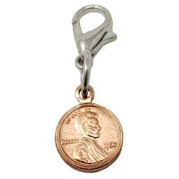 Copper Mini Penny Charm