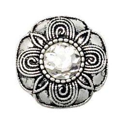 Crystal Silver Treasure Snap