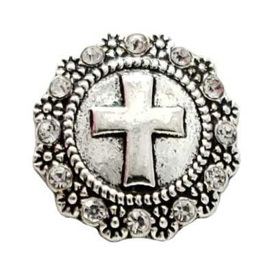 Flowery Cross Treasure Snap