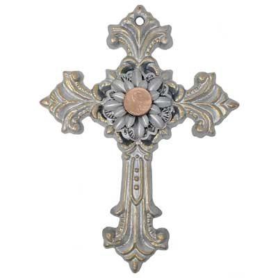 Large Silver Cross