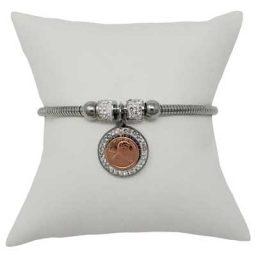 Mini Penny Tree of Life Magnetic Bracelet