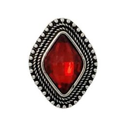 Regal Red Rhombus Treasure Snap