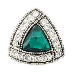 Emerald Ribbon Treasure Snap