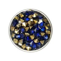 Blue Gold Multi Treasure Snap