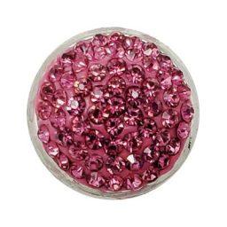 Chunky Pink Glitz Treasure Snap