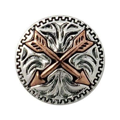 Copper Twin Arrows Treasure Snap