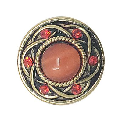Entwined Carnelian (Light) Treasure Snap