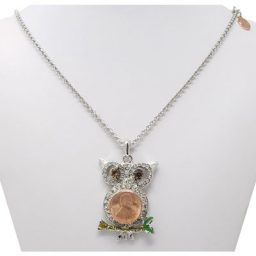 Perched Owl SNAP Necklace