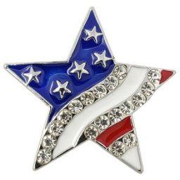 Crystal Stars and Stripes Treasure Snap
