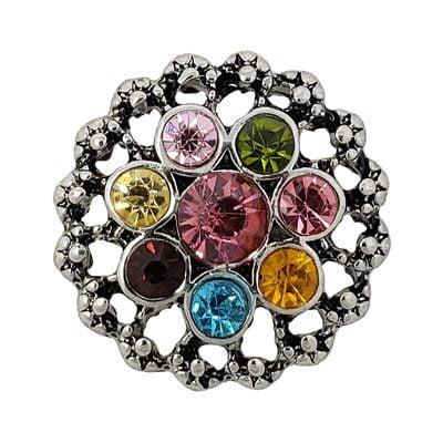 Multi-Colored Crystal Treasure Snap