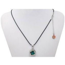 L-O-N-G Black SNAP Necklace