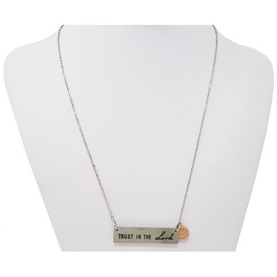 TRUST IN THE Lord Mini Penny Necklace
