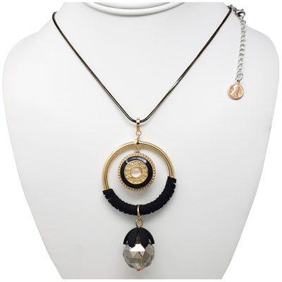 Golden Black Beauty SNAP Necklace