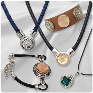 Leather / Faux Leather Snap Jewelry