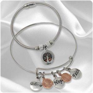 Mini Penny Bracelets