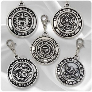 US Forces Penny Charms