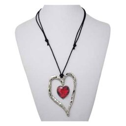 Hannah's Heart SNAP Necklace