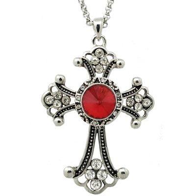 NCK-0002a-Diamante-Cross-with-Antique-RedT2