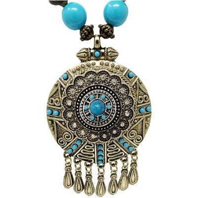 Charming Southern Turquoise SNAP Necklace