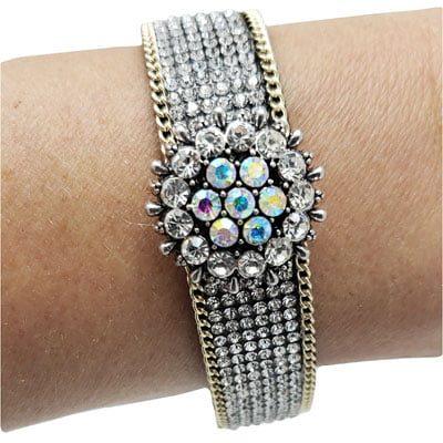 Princess Glitz Magnetic Snap Bracelet